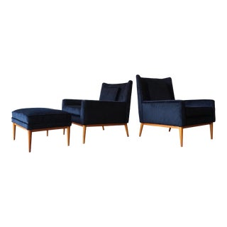 Pair of Paul McCobb Lounge Chairs For Sale