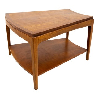 Mid Century Modern Lane Rhythm Wedge Side Table For Sale