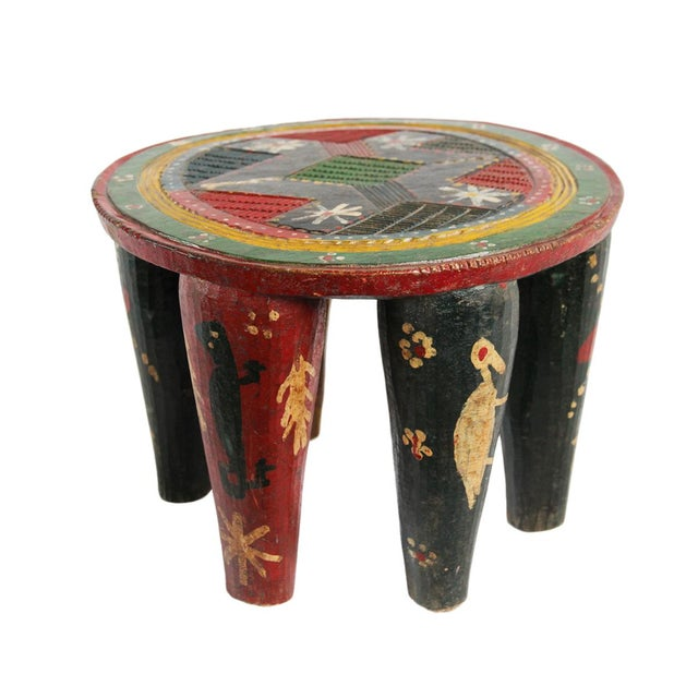 1980s Old Nupe Stool Nigeria For Sale - Image 5 of 5