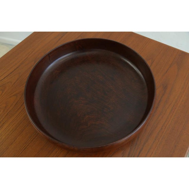 Mid 20th Century Wooden Salad Bowl For Sale - Image 5 of 6