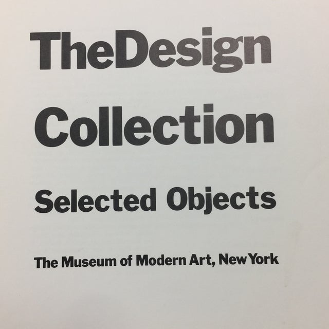 The Design Collection Museum of Modern Art 1970 Book - Image 3 of 11