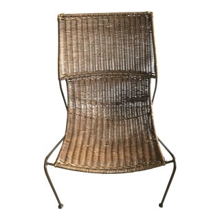 1960s Vintage Fredrick Weinberg Chair For Sale
