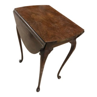 Baker Furniture Drop Leaf Side Table For Sale