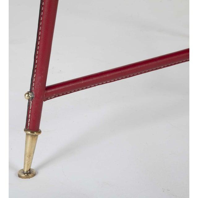 Black Pair Of Jules Leleu Side Tables For Sale - Image 8 of 13