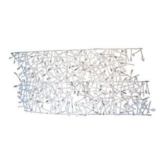 Vintage Forks & Knives Wall Sculpture. For Sale