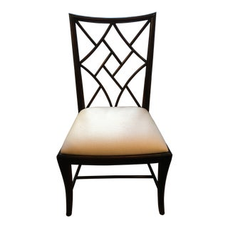 Modern Lillian August Chippendale Side Chair For Sale