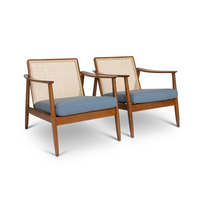 Pair of Folke Ohlsson / Dux Lounge Chairs For Sale - Image 12 of 12