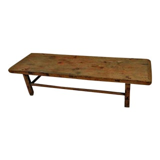 Long Wood Farmer's Coffee Table