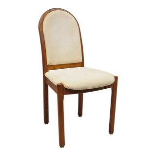 Benny Linden Design Mid-Century Danish Modern Style Teak Dining Side Chair For Sale