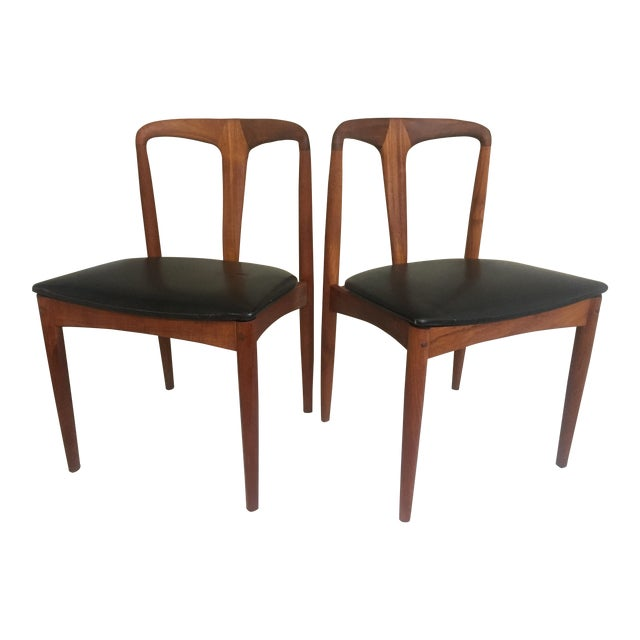 Teak Juliane Dining Chairs by Johannes Andersen - A Set of Two - Image 1 of 10