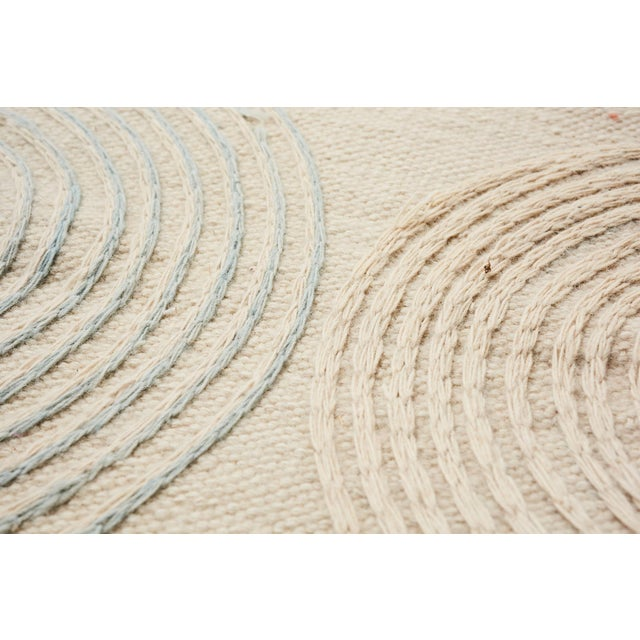 Schumacher Schumacher Whirlpool Area Rug in Hand-Woven Wool, Patterson Flynn Martin For Sale - Image 4 of 7