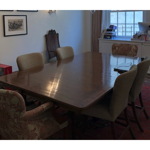 Pickwick Mahogany Dining Table For Sale In New York - Image 6 of 7