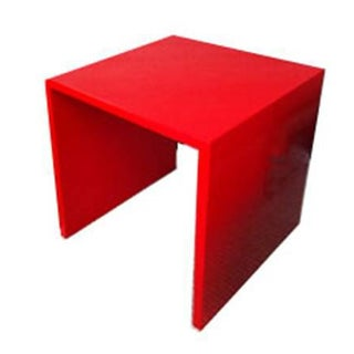 Red Accent Tables