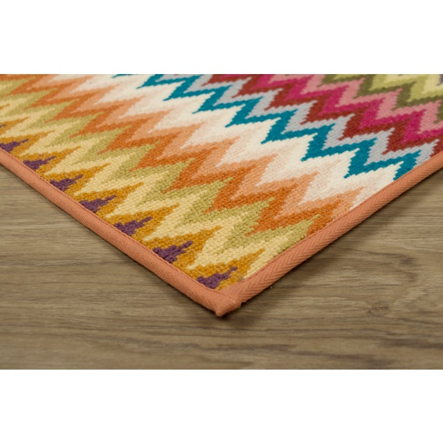 Contemporary Stark Studio Rugs 100% Wool Rug Baci - Multi 10 X 14 For Sale - Image 3 of 4