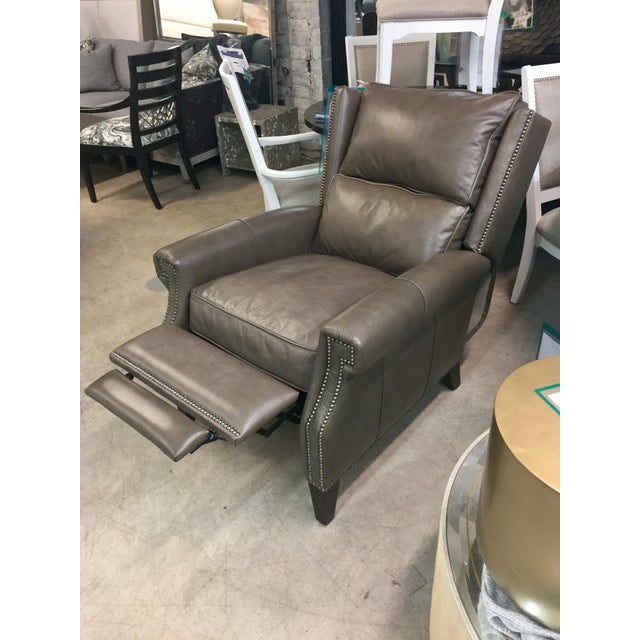 Awe Inspiring Modern Henredon Leather Company Recliner Chair Ibusinesslaw Wood Chair Design Ideas Ibusinesslaworg