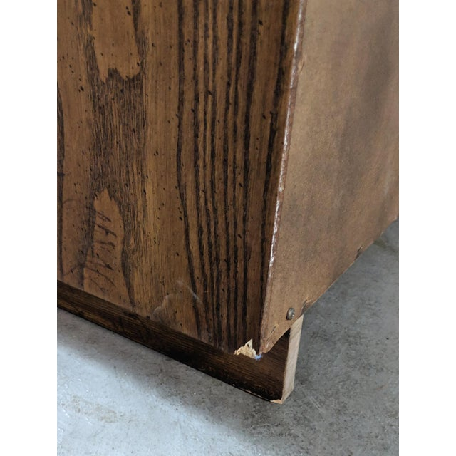 1970s Campaign Dixie Furniture Tall Dresser For Sale - Image 11 of 12