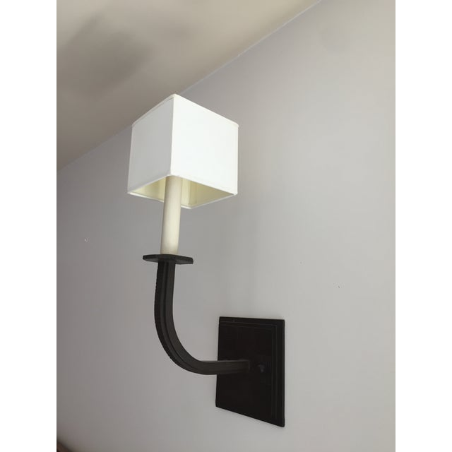 Contemporary Paul Ferrante Wall Sconces - Set of 4 For Sale - Image 3 of 10