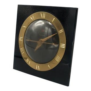 1940s Art Deco Electric Desk Clock For Sale