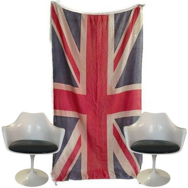 Vintage Union Jack Paper Thin Distressed Flag - Image 2 of 10