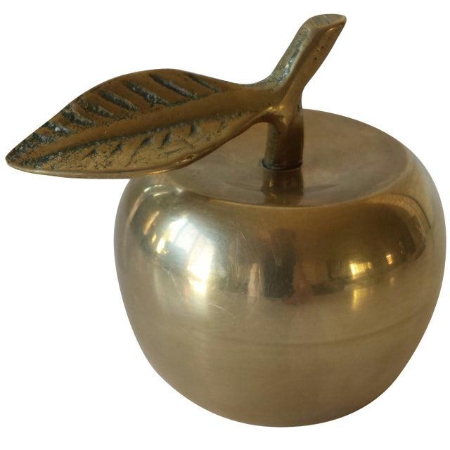 Brass Apple Bell - Image 1 of 3