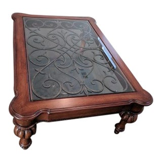 Flash Sale! Ethan Allen Devereaux Coffee Table ... Great Price for This Ethan Allen Beauty!