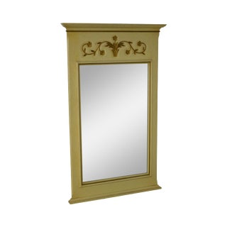 John Widdicomb Vintage French Louis XV Style Trumeau Mirror For Sale