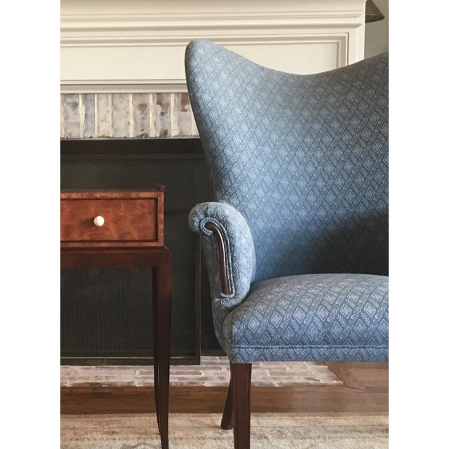 Vintage Mid Century Butterfly Wingback Chairs - a Pair For Sale In Dallas - Image 6 of 7