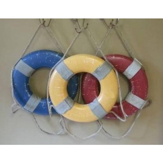 Vintage Nautical Life Rings - Set of 3 - Image 2 of 5