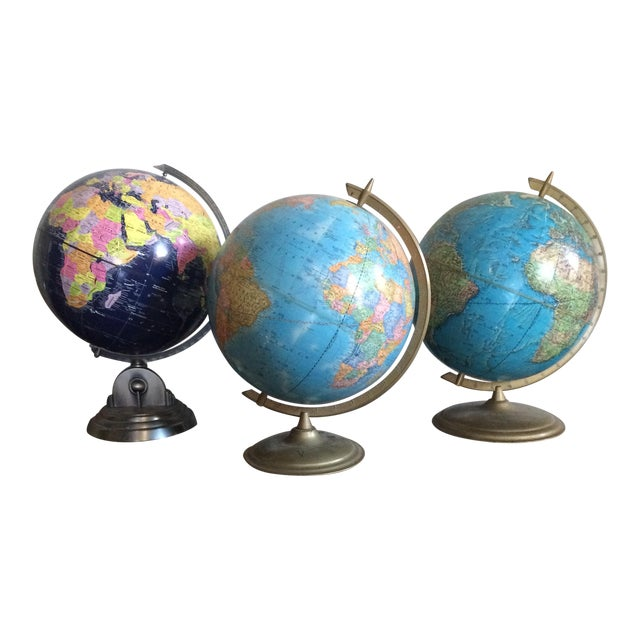 Mixed Group of Globes - Set of 3 - Image 1 of 10