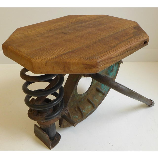 1980s High-Tech Side Table/Seat For Sale - Image 5 of 8