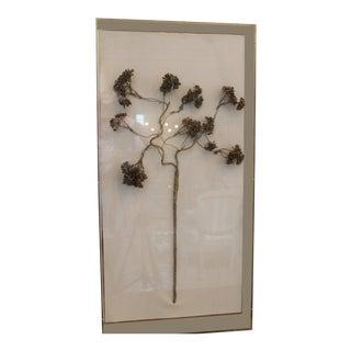 John Richards Golden Viburnum Wall Sculpture For Sale