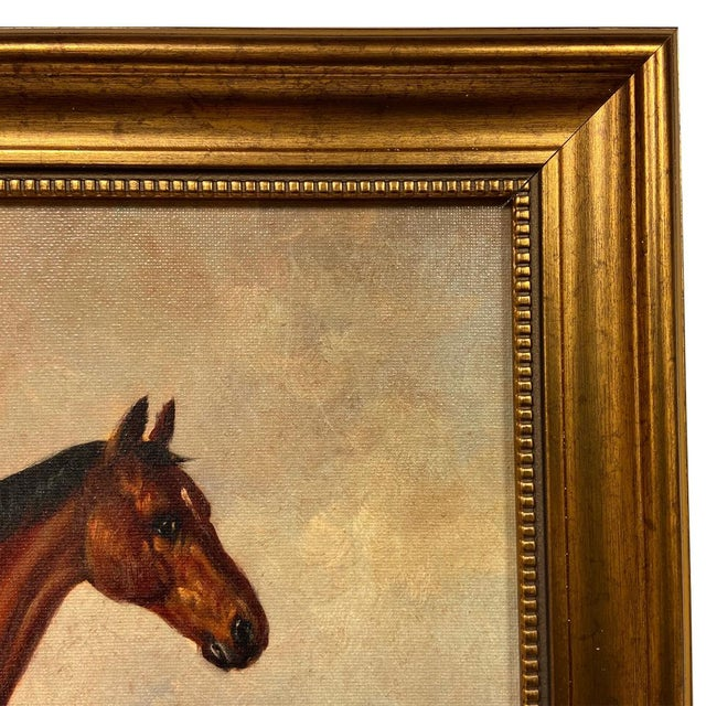 Accurately reproduced from the original work by William Barraud (c.1845), this antiqued, oil painting reproduction on...