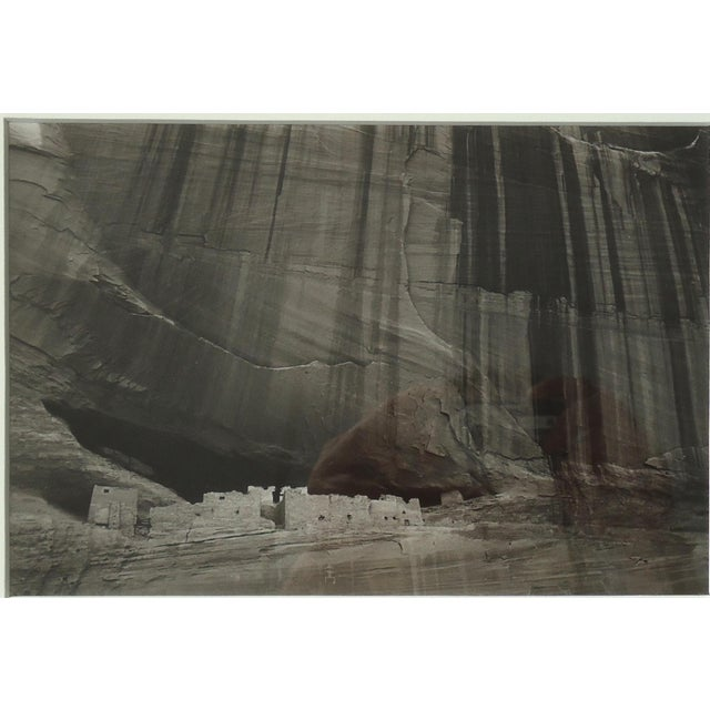An original art photo of White House Ruins, Canyon De Chelly Arizona by S Brian, 1987, print No 1, cat no 65. This is a...