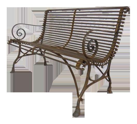 1920u0027s French Garden Bench