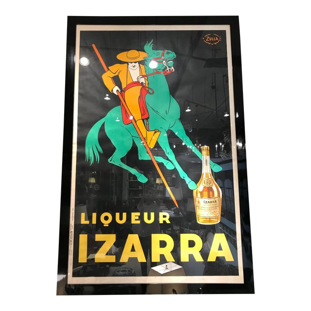 """1930s Vintage Advertising Cappiello """"Le Thermogene"""" Vintage Liquer Poster For Sale"""