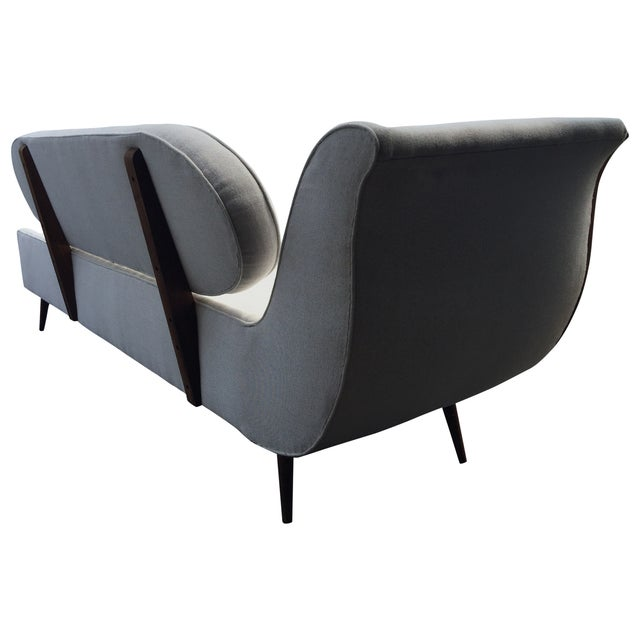 Exquisite Mid Century Modern Sofa Settee by Cimon - Image 5 of 5