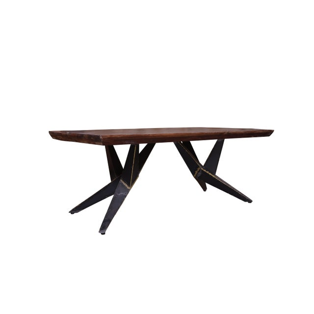 Faunia Wooden Coffee Table for Living Room For Sale - Image 4 of 4