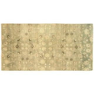 "Nalbandian - 1950s Turkish Oushak Carpet - 5'4"" X 10' For Sale"