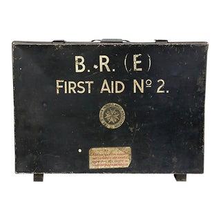1940s British Railways First Aid Kit Box