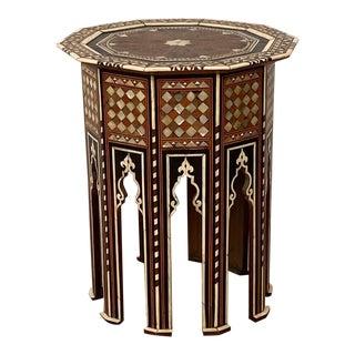 Circa 1900 Ottoman Folding Table For Sale