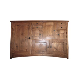 Sideboard / Credenza / Cabinet - Arts & Crafts or Mission Style For Sale