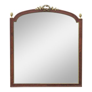 Linke Bronze Mounted Beveled Glass Mirror For Sale