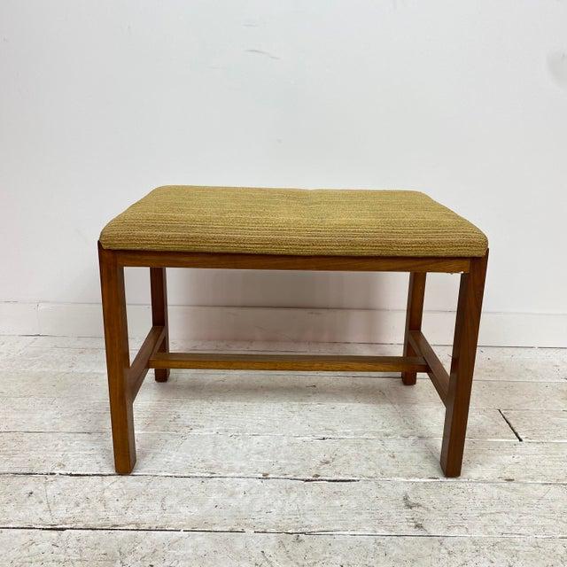 1960s Mid-Century Modern Dunbar Stool For Sale - Image 10 of 10