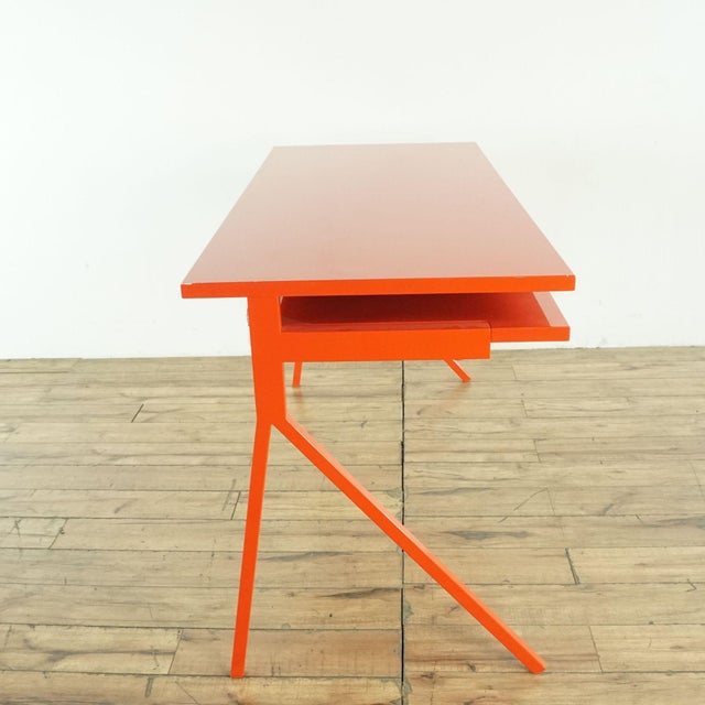 Contemporary Contemporary Blu Dot Red Computer Desk For Sale - Image 3 of 10