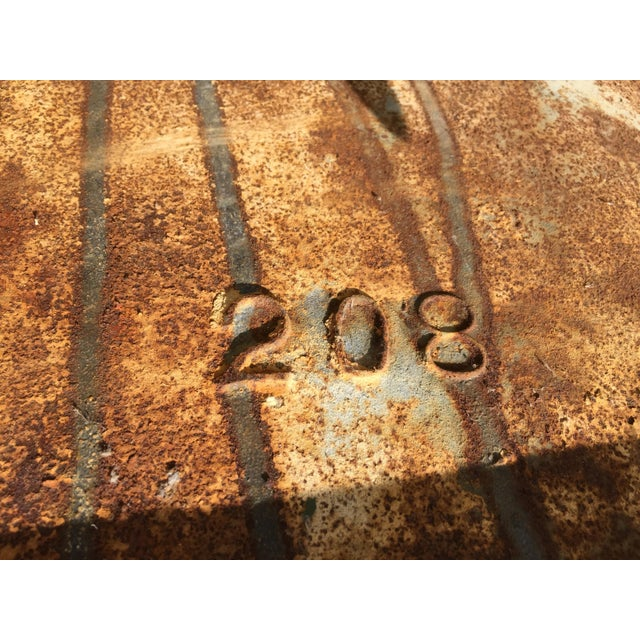 Cast Iron Antique Salvage Utility Sink For Sale In Los Angeles - Image 6 of 11