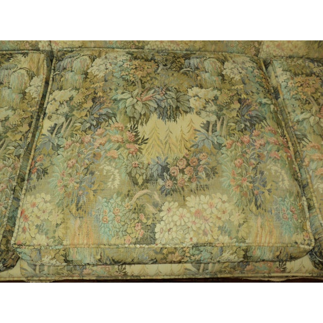 Antique French Provincial Sofa & Chair - A Pair - Image 5 of 11
