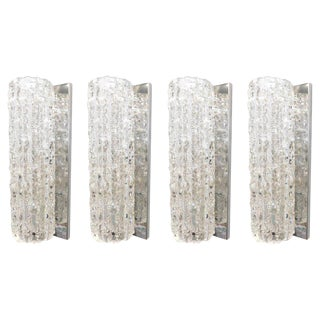 Mazzega Murano Glass Tronchi Sconces (4 Available) For Sale