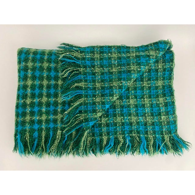 Mid-Century Modern Mid-Century Pendleton Blanket For Sale - Image 3 of 5