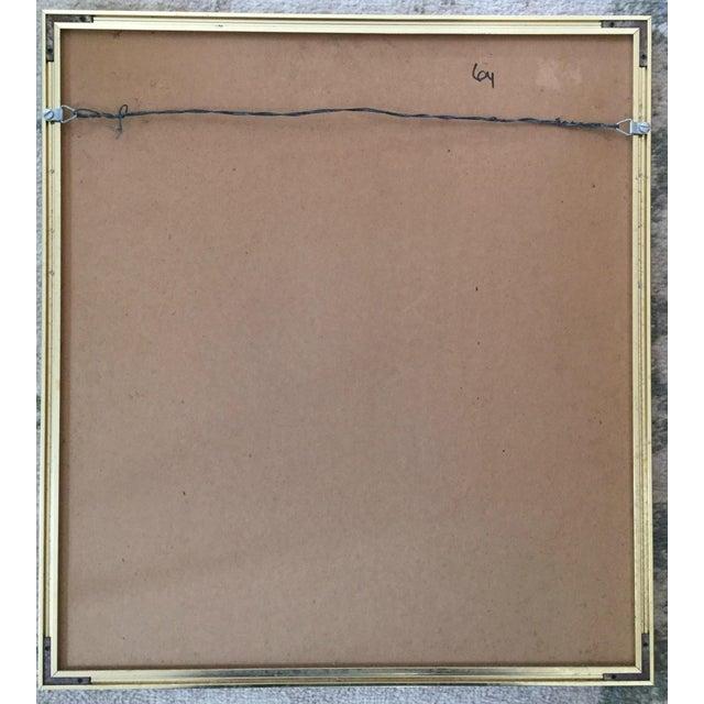 Metal Paul Klee Senecio Head of Man Framed Art Print For Sale - Image 7 of 9