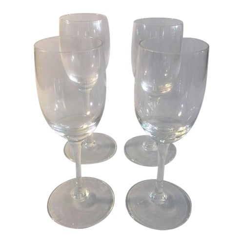 Flute Glasses - Set of 4 - Image 1 of 6